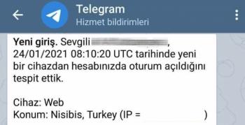 Telegram web Nusaybin'i tarihi adıyla konumladı