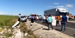 Tır, hayvan yüklü kamyonete çaptı, 1 kişi hayatını kaybetti, 3 yaralı