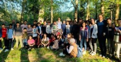 Tügva Nusaybin'de öğrencilerle piknikte bir araya geldi