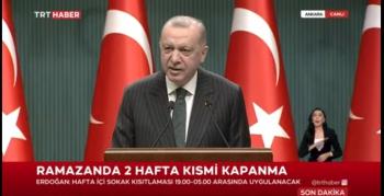Türkiye geneli kısmi kapanma Çarşamba akşamı başlıyor