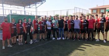 Yakıcı İnşaattan Nusaybin Maraton Spor Akademisi sporcularına destek