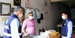 Zabıta ramazan ayı için fırın ve marketleri denetledi