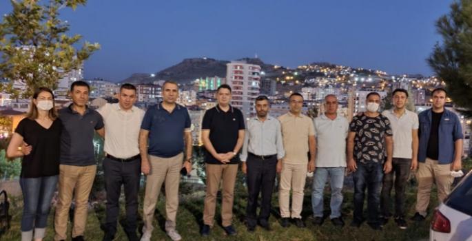 Kaymakam Gökpınar'a Mardin'de veda gecesi