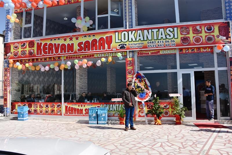 Kervansaray Lokantasının açılışı yapıldı