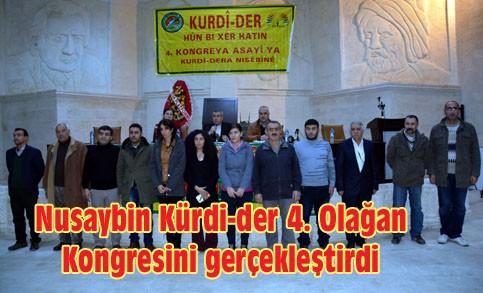 Nusaybin Kürdi-der 4. Olağan Kongresini gerçekleştirdi