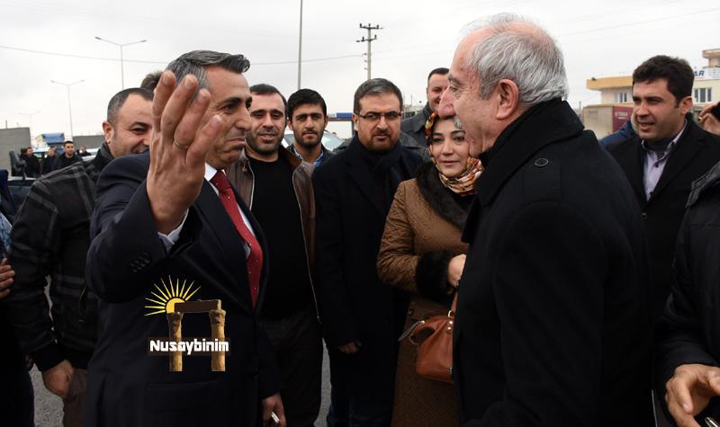 Nusaybin Başkanı Özel'e hayırlı olsun ziyareti
