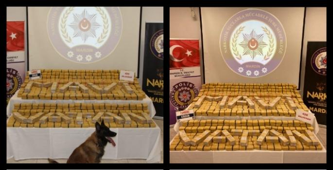Mardin'de 420 kilo Eroin ele geçirildi