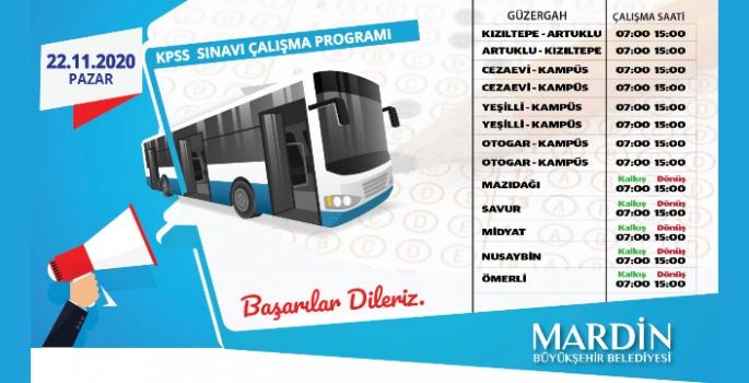 MBB, KPSS için otobüs seferleri düzenleyecek