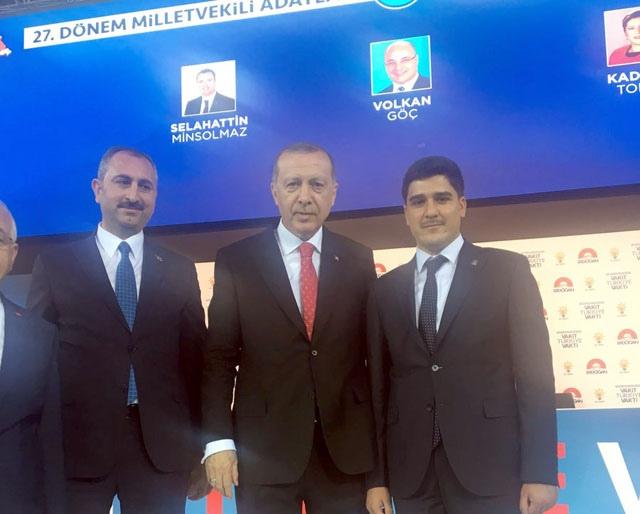Cumhuriyet tarihinin en genç erkek Milletvekili Adayı Nusaybinli