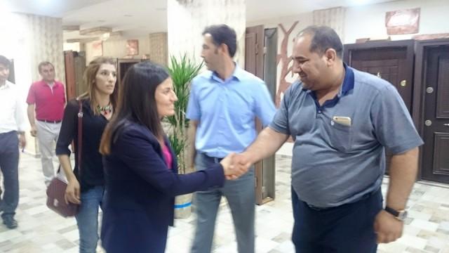 HDP'li Milletvekillerinden teşekkür ziyareti
