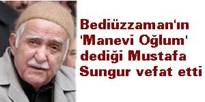 Mustafa Sungur Hakka yürüdü