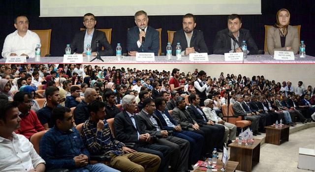"""Nusaybin'de """"Kariyer ve İstihdam"""" paneli"""