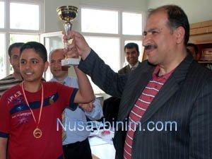 Nusaybin Kaymakamlığı Satranç Turnuvası sona erdi