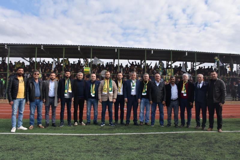 Kızıltepe Belediye ile Nusaybin Belediye maçı
