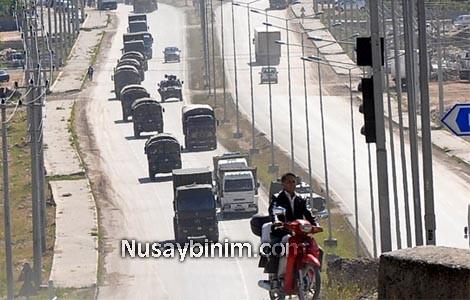 Nusaybin\'de Askeri hareketlilik