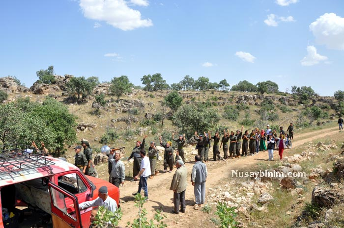 BDP'liler Bagok dağına çözüm çadırı kurdu