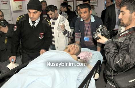 Nusaybin'de ayağı kayan çoban kendi tüfeğiyle yaralandı