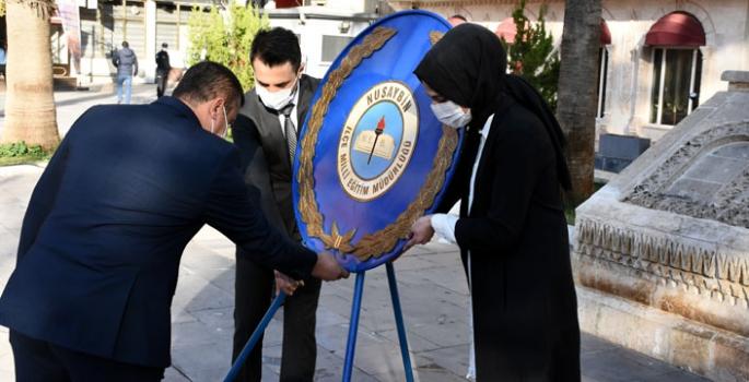 Nusaybin'de 24 Kasım Öğretmenler Günü Kutlandı