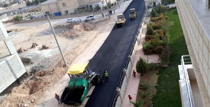 Nusaybin'de beklenen asfalt çalışmaları başladı