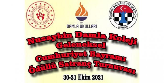 Nusaybin'de Cumhuriyet Satranç Turnuvası düzenlenecek