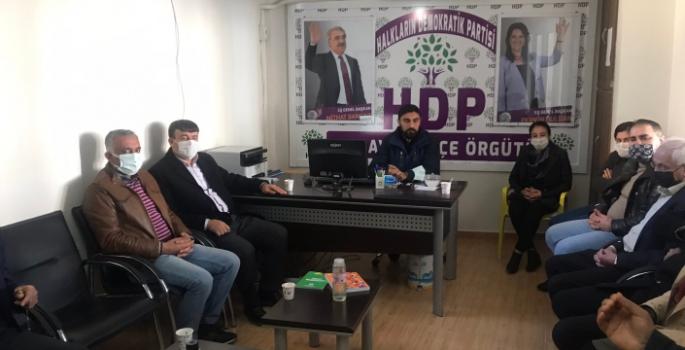Nusaybin'de DEVA Partisinden HDP'ye ziyaret