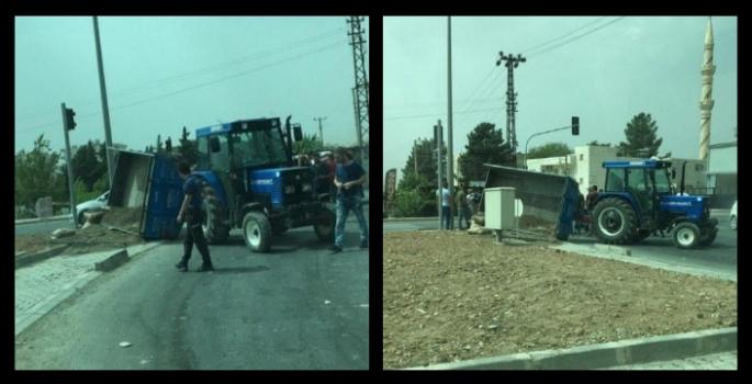 Nusaybin'de iki ayrı trafik kazası, 4 araç hasar gördü