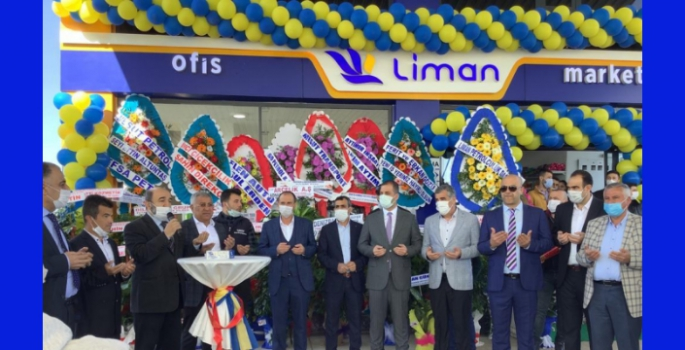 Nusaybin'de Liman Petrol açılışı yapıldı
