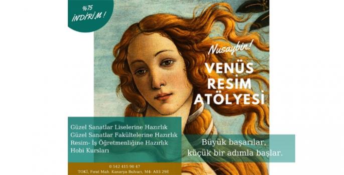 Nusaybin'de resim kursu açıldı