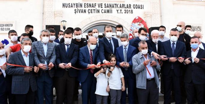 Nusaybin'de Şehit Şivan Çetin Camisinin Açılışı Yapıldı