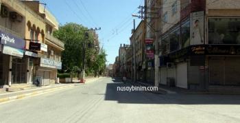 Nusaybin'de sokağa çıkma kısıtlamasına tam uyuluyor