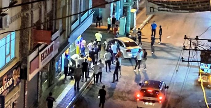 Nusaybin Dörtyol'da trafik kazası, 2 yaralı