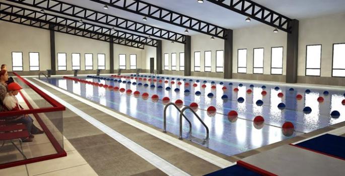 Nusaybin'eYarı Olimpik Kapalı Yüzme Havuzu Müjdesi