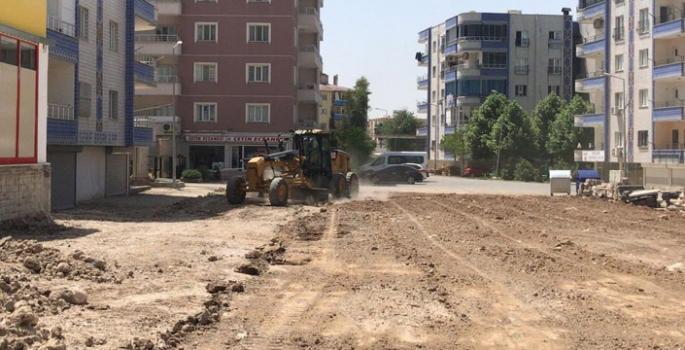 Nusaybin'e yeni bir park kazandırılıyor