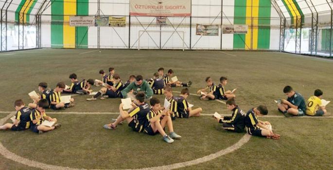 Nusaybin Fenerbahçe Okulunda Kitap okuma etkinliği