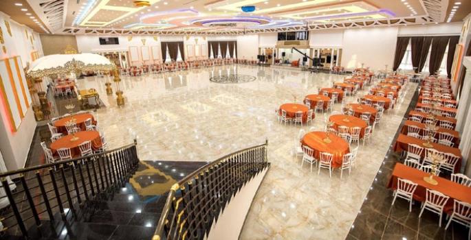 Nusaybin'in en büyük ve görkemli düğün kompleksinde randevular devam ediyor