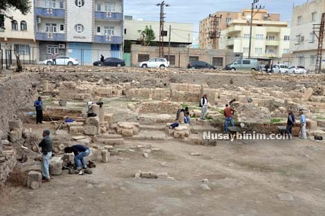 Nusaybin'de 'İnanç Parkı' kazıları başladı