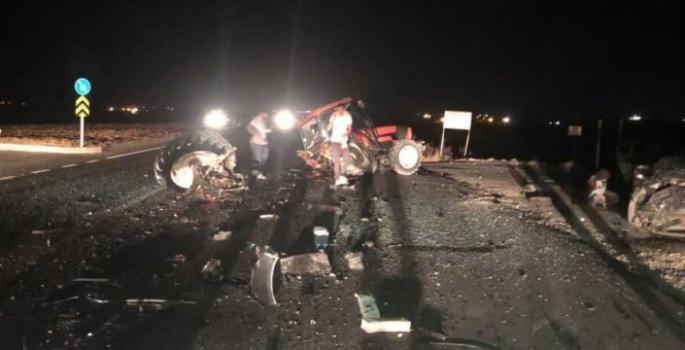 Nusaybin İpek yolunda kaza, 5 yaralı