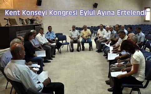 Nusaybin Kent Konseyi Kongresi Eylül ayına ertelendi