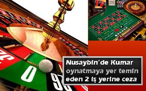 Nusaybin'de Kumar oynatmaya yer temin eden 2 iş yerine ceza verildi
