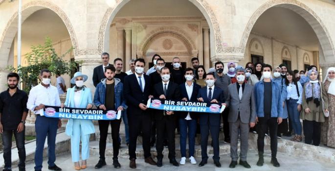 Nusaybin MYO, MAÜ SKS Öğrenci Toplulukları Temsilcilerini ağırladı