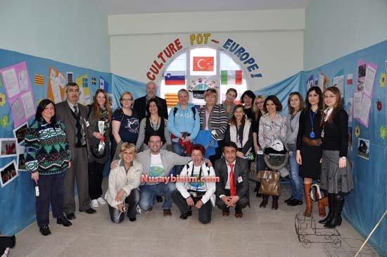 5 AB ülkesinden 15 Öğretmen Nusaybin'de