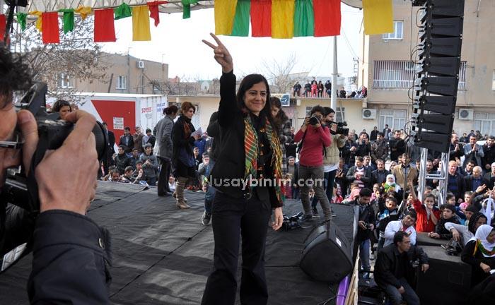 Nusaybinde Rojavaya destek mitingi