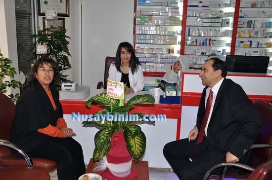 Sağlık Eczanesinin açılışı Başkan Gökkan ve Baştabip Yaka tarafından yapıldı