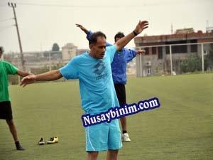 Nusaybin Demirspor Yeşil çime 'Merhaba' dedi
