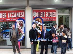Nusaybin Dilber Eczanesi açıldı