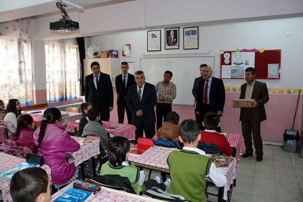 Nusaybin'de Okul sütü dağıtıldı
