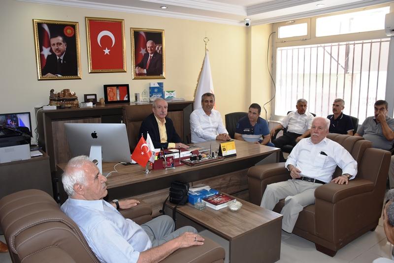 Milletvekili Miroğlu Nusaybin'i ziyaret etti