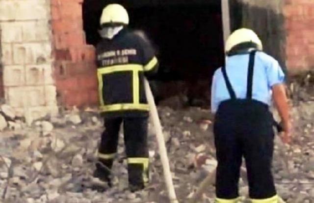 İmha sırasında başka evdeki ikinci bomba patladı