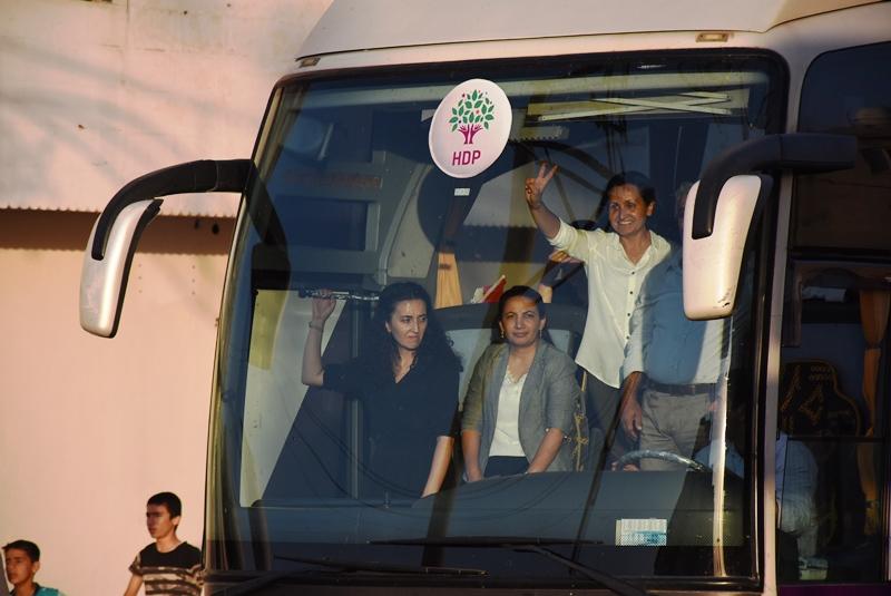 HDP Eş Genel Başkanı Buldan Nusaybin'de