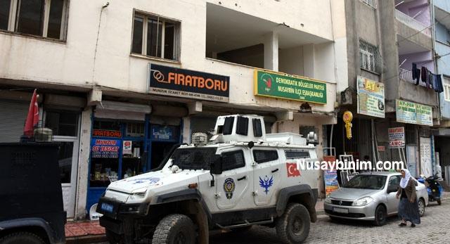 Gözaltındaki DBP'liler mahkemeye çıkarıldı